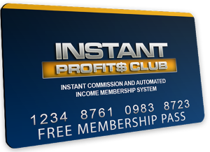 Instant Profits Club card